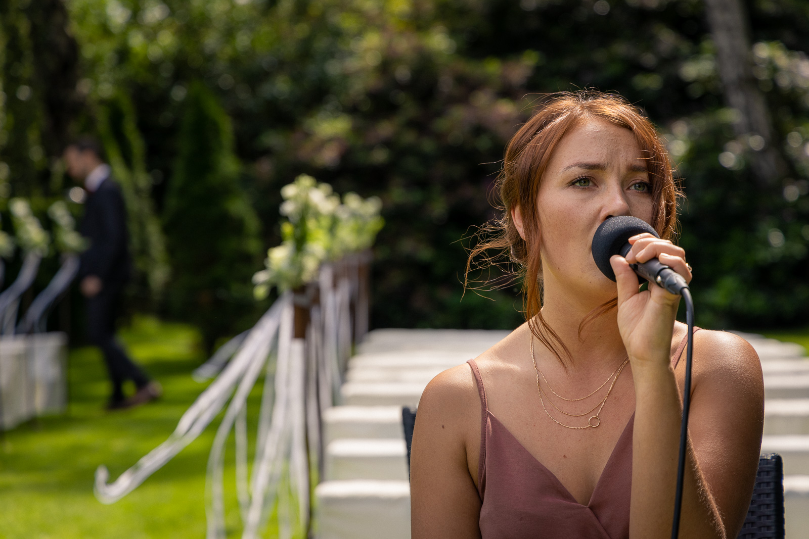 Freie Trauung mit Gesang, Sektempfang und Hochzeitsband